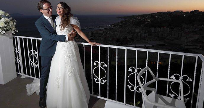 Da D'angelo come in una favola: il matrimonio di Paco e Agnese