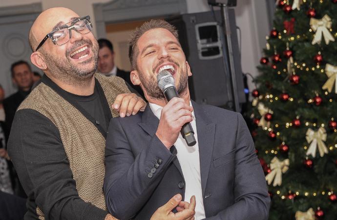 Festa di Natale azzurra: i retroscena di una serata indimenticabile