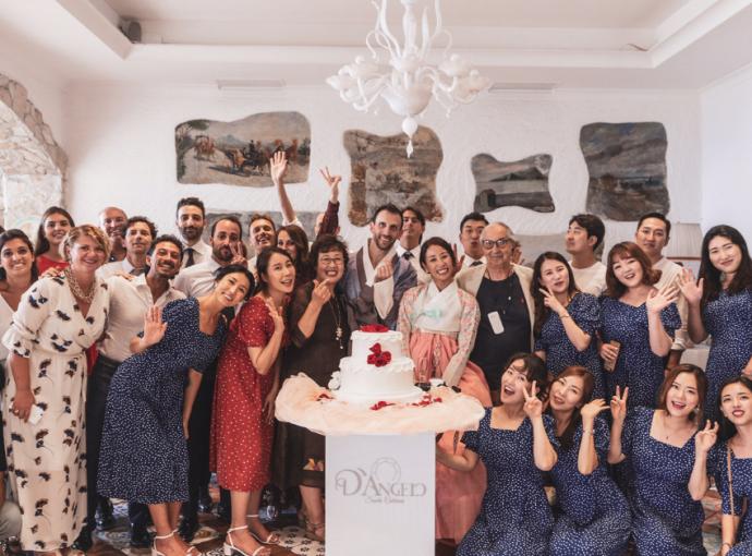 Il matrimonio Multietnico di Lorenzo e Go – Eun da D'Angelo Santa Caterina
