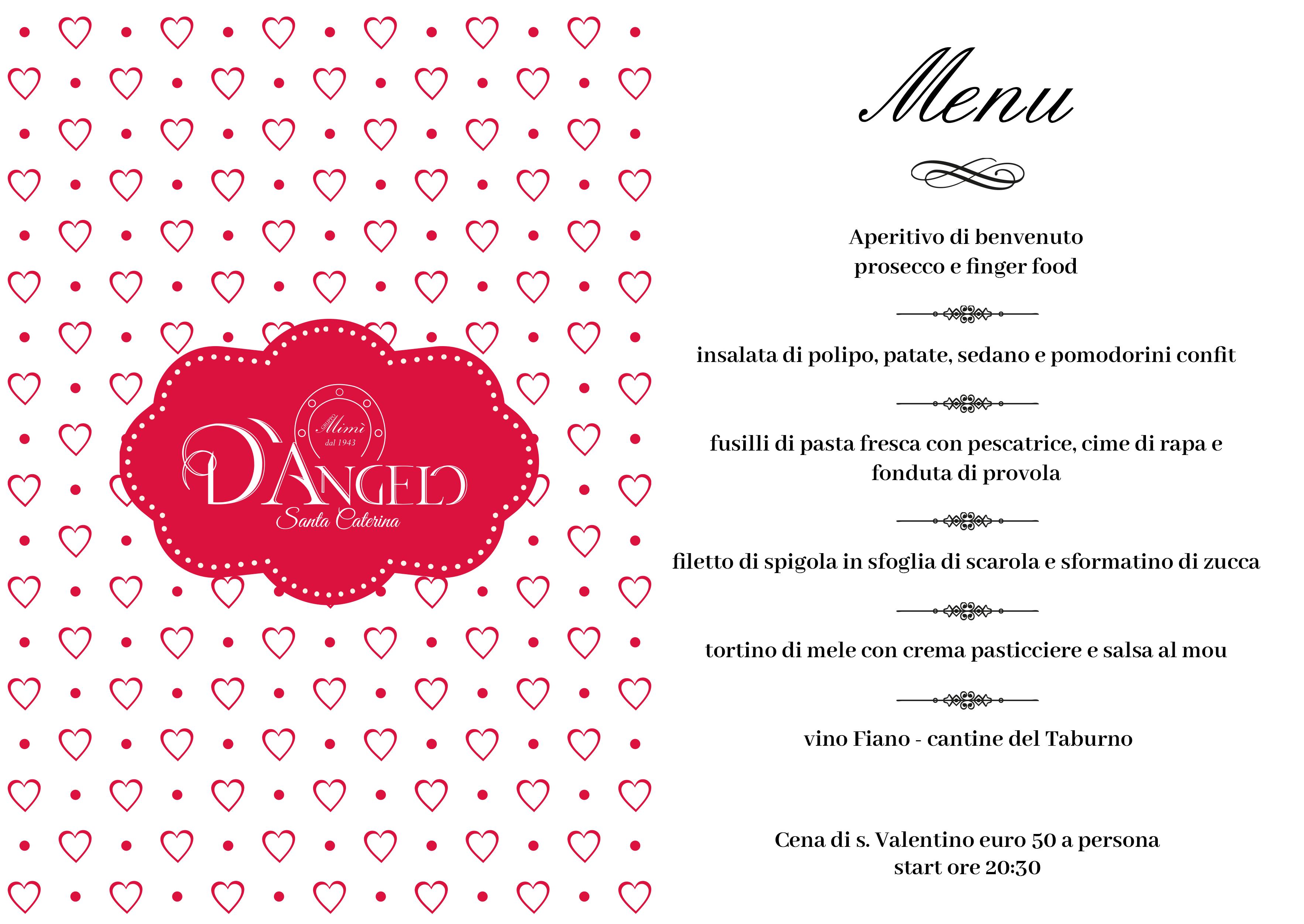 San Valentino 2019 Da D Angelo Santa Caterina D Angelo